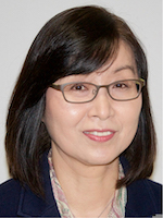 Headshot of Haesun Park wearing glasses