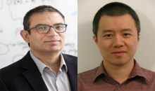 Two faculty members affiliated with the Machine Learning Center at Georgia Tech have teamed up to receive a grant from the National Science Foundation to further explore combining machine learning techniques and materials science.