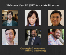 ML@GT adds six new associate directors to the leadership team from across the institute.